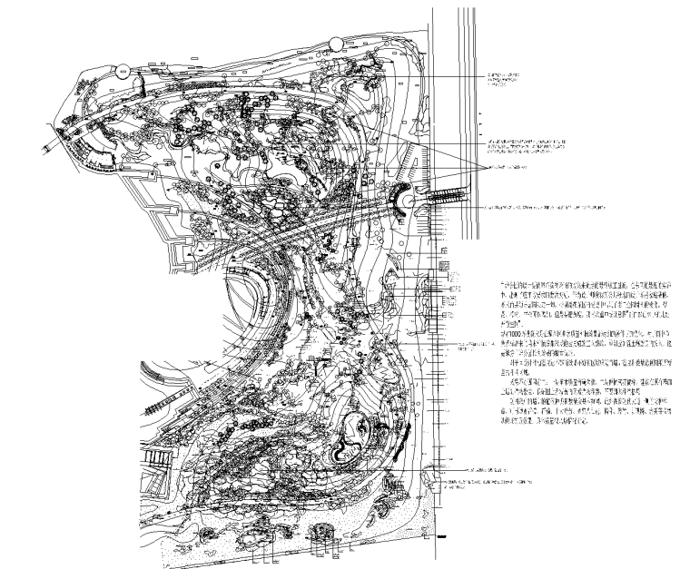 4套植物配置种植CAD平面图-植物园植物配置平面图 2_看图王