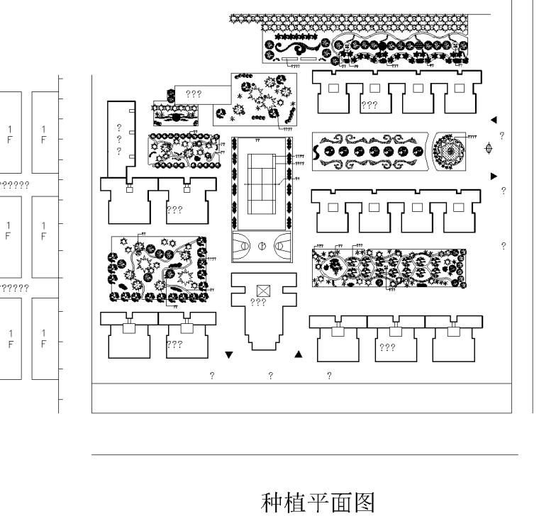 4套植物配置种植CAD平面图-种植平面图 4_看图王