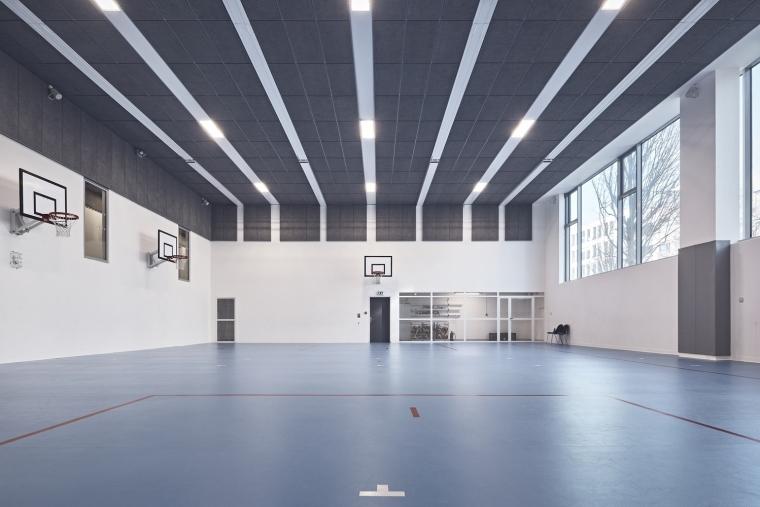 法国EspacePompidouGymnasium健身房-Enia_architectes-Espace_Pompidou_-_Courbevoie-Epaillard_Machado_12_ArchDaily