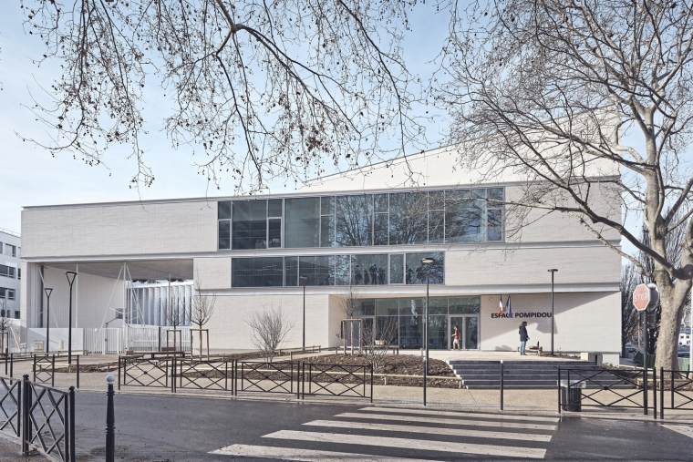 法国EspacePompidouGymnasium健身房-feature_-_Enia_architectes-Espace_Pompidou_-_Courbevoie-Epaillard_Machado_14_ArchDaily