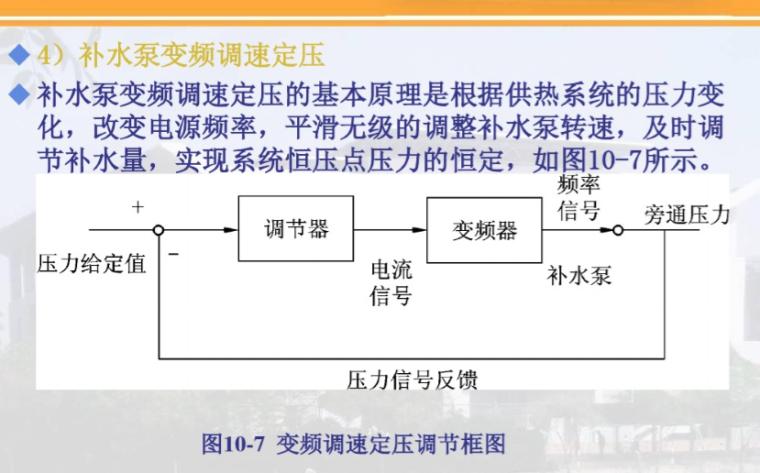热水网路的水压图与水力工况