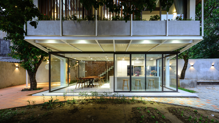 越南Stacking-Roof住宅-14