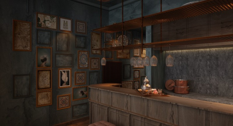 艺科设计 青岛刺青工作室设计,沉稳、神秘-img_1324