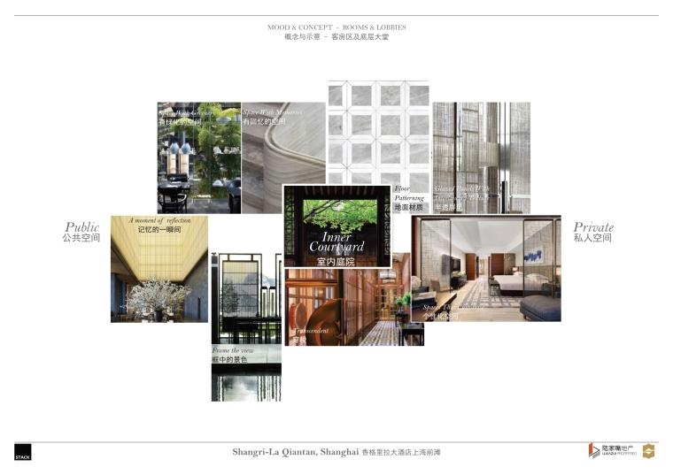 上海前滩香格里拉大酒店样板间方案+施工图-上海前滩香格里拉大酒店样板间概念方案 (2)