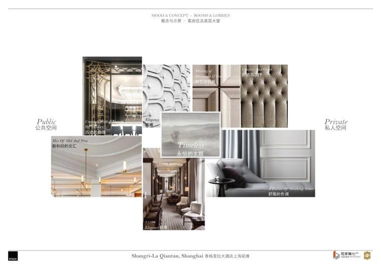 上海前滩香格里拉大酒店样板间方案+施工图-上海前滩香格里拉大酒店样板间概念方案 (3)