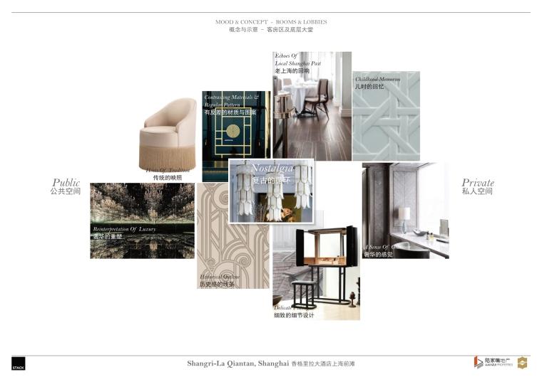 上海前滩香格里拉大酒店样板间方案+施工图-上海前滩香格里拉大酒店样板间概念方案 (4)