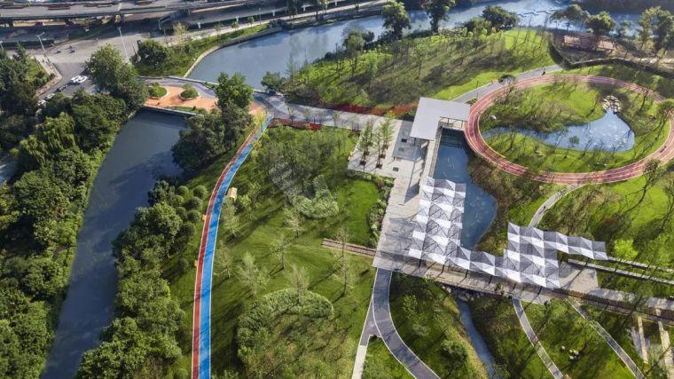 城市绿廊-沙河源公园/AECOM+成都澳博