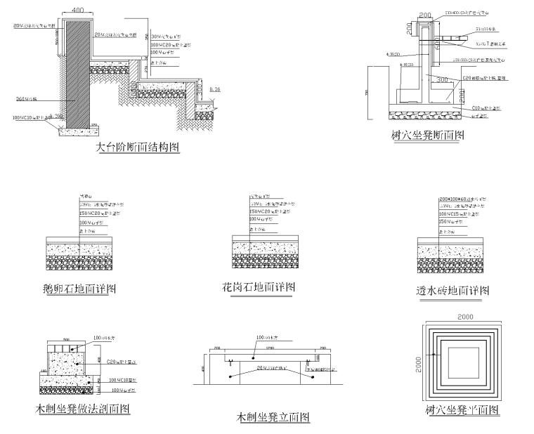 花园CAD施工图纸-花园施工图纸 3_看图王