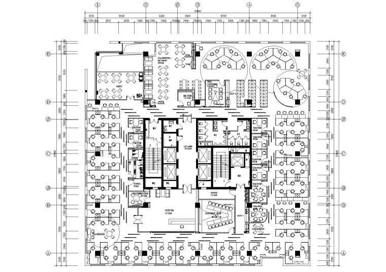 [成都]戴尔成都专卖店办公室施工图+效果图