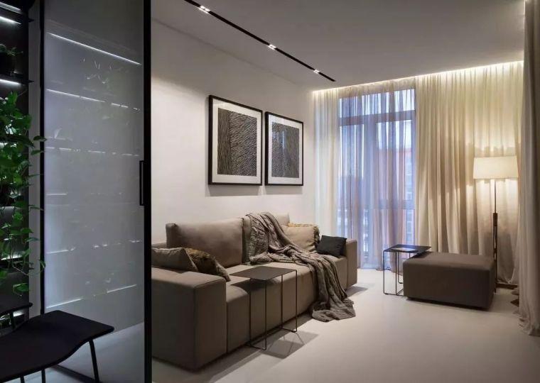 40㎡现代极简风格,用小空间打造温馨住宅!