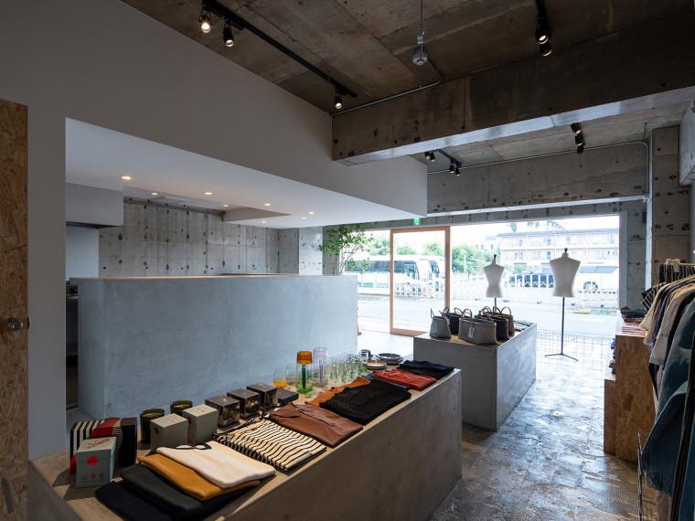 日本aswell服装店和咖啡馆