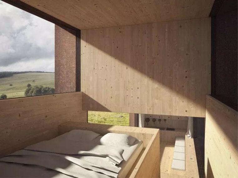[设计邦·场]一座被木头环绕的乡村房屋_3