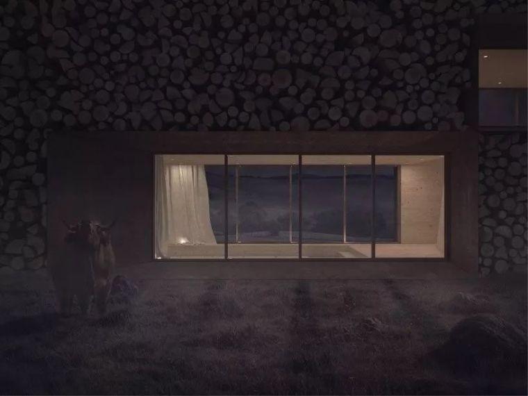 [设计邦·场]一座被木头环绕的乡村房屋_5