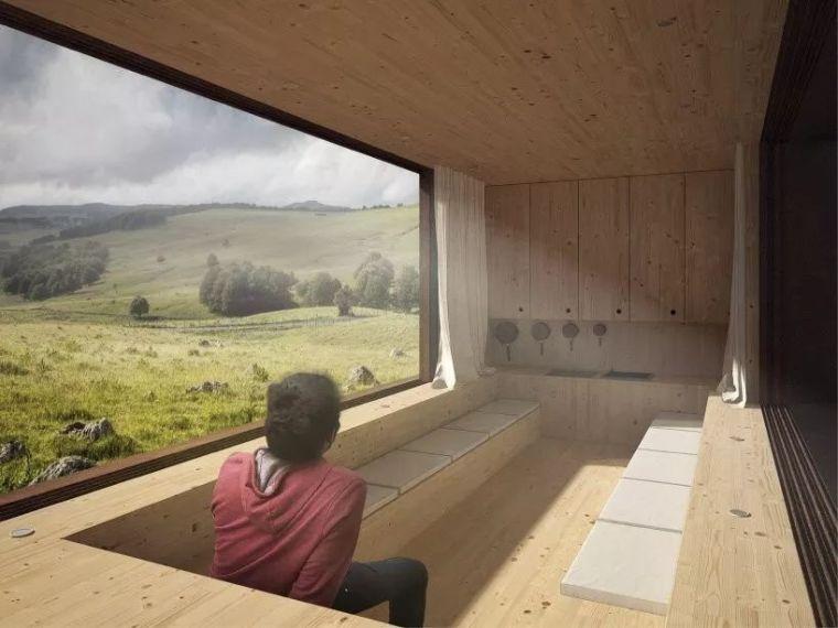 [设计邦·场]一座被木头环绕的乡村房屋_4