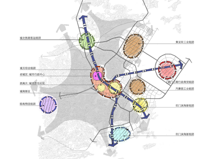 [浙江]玉环县城南新区村镇改造城市设计图纸