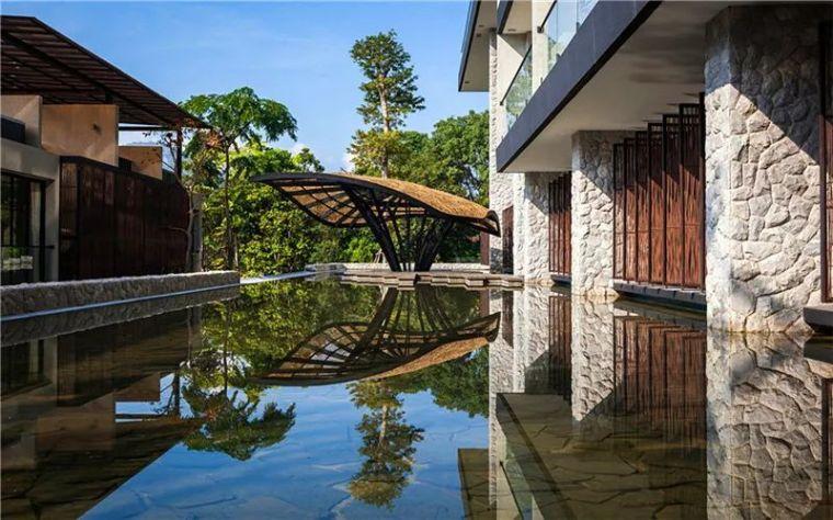 水池景观,让你凉爽一夏~