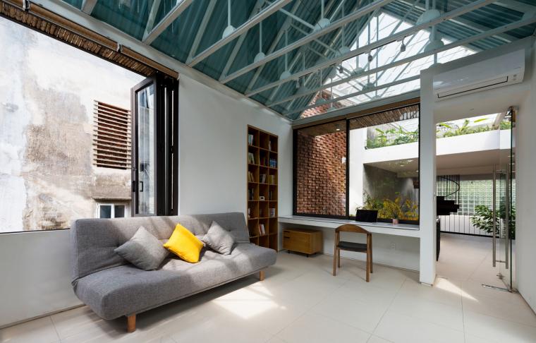 越南Stacking-Roof住宅-29