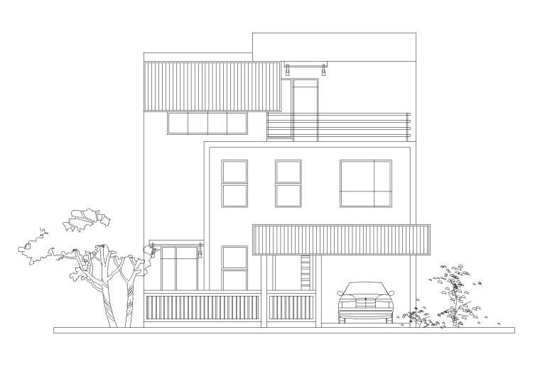 农村实景图资料下载-新世纪安居型农村住宅建筑施工图