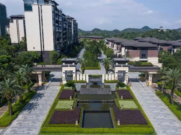 宜春港中旅公元住宅景观