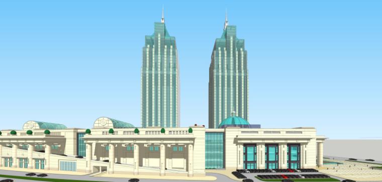 [上海]月星环球港建筑模型设计-上海月星环球港建筑模型 (13)