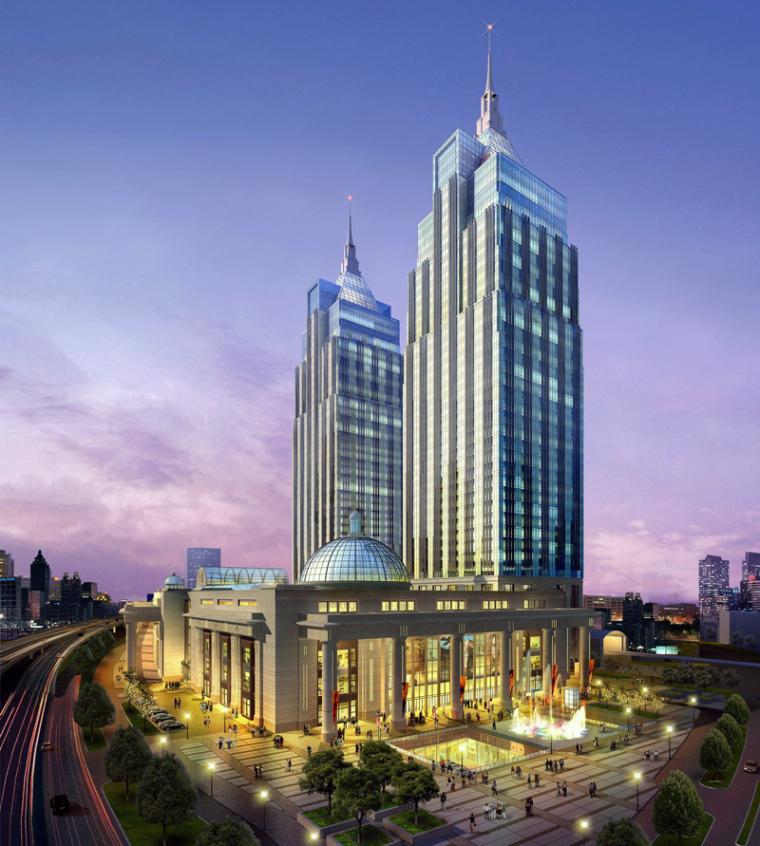 [上海]月星环球港建筑模型设计-上海月星环球港建筑模型 (4)