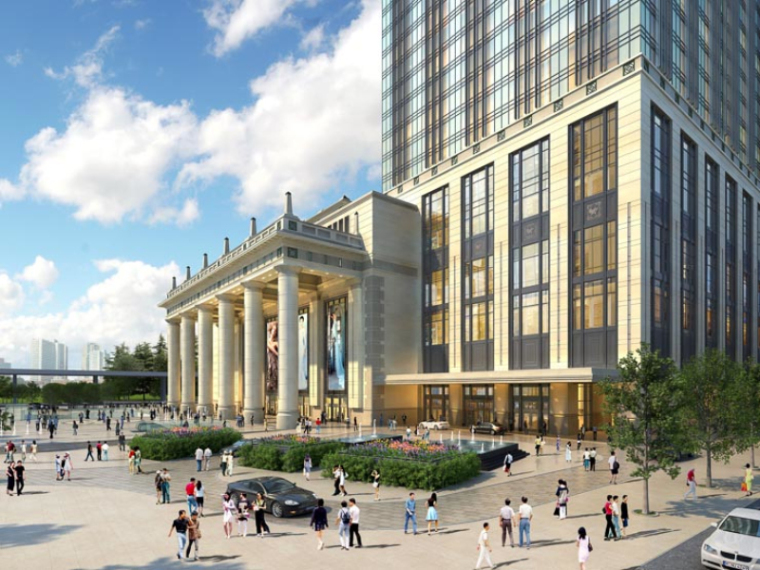 [上海]月星环球港建筑模型设计-上海月星环球港建筑模型 (5)