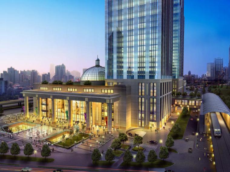 [上海]月星环球港建筑模型设计-上海月星环球港建筑模型 (6)