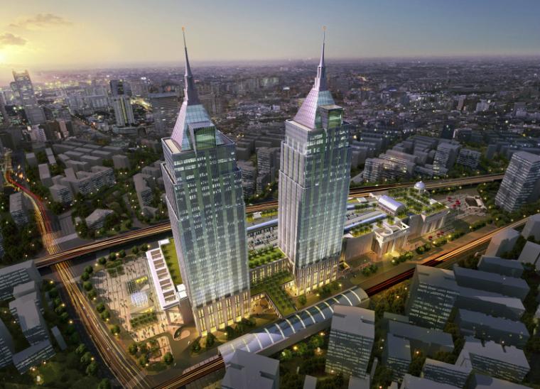 [上海]月星环球港建筑模型设计