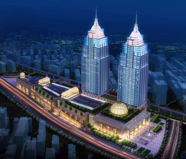 [上海]月星环球港建筑模型设计-上海月星环球港建筑模型 (2)