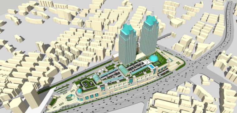 [上海]月星环球港建筑模型设计-上海月星环球港建筑模型 (8)
