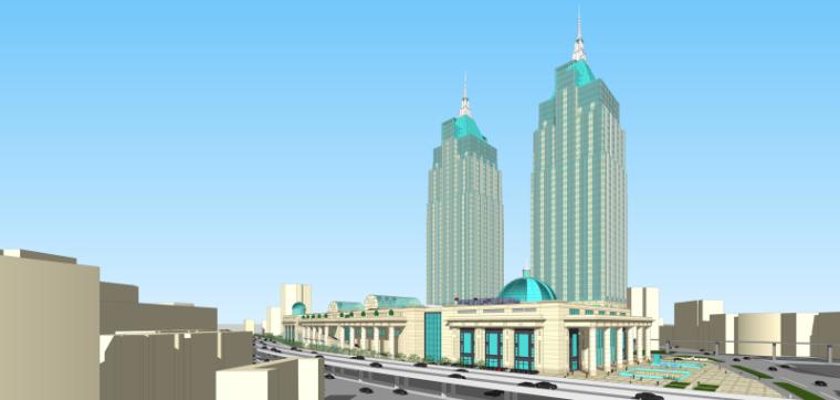 [上海]月星环球港建筑模型设计-上海月星环球港建筑模型 (9)