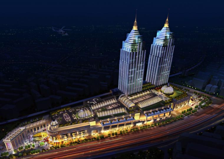 [上海]月星环球港建筑模型设计-上海月星环球港建筑模型 (3)