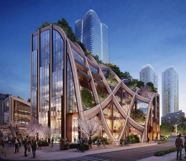 魔幻立面|未来派建筑