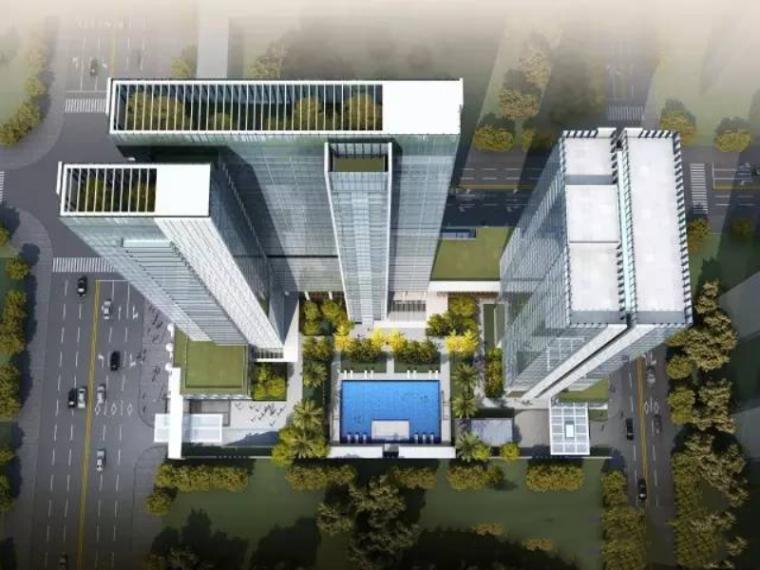 [广东]现代风格商业建筑模型设计