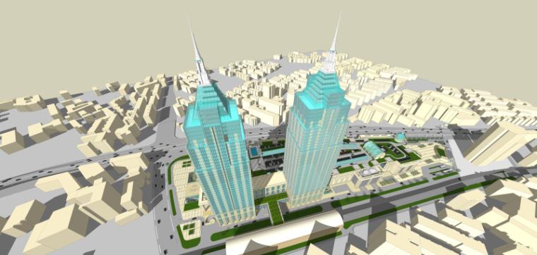 [上海]月星环球港建筑模型设计-上海月星环球港建筑模型 (10)