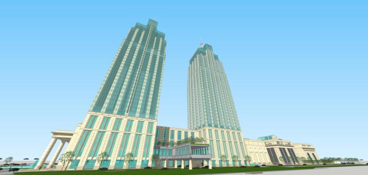 [上海]月星环球港建筑模型设计-上海月星环球港建筑模型 (11)
