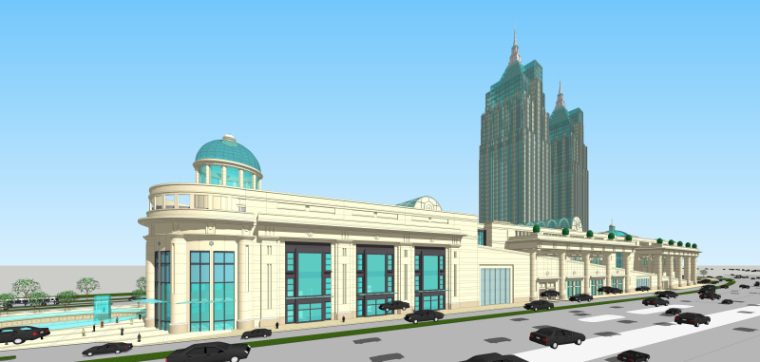 [上海]月星环球港建筑模型设计-上海月星环球港建筑模型 (12)