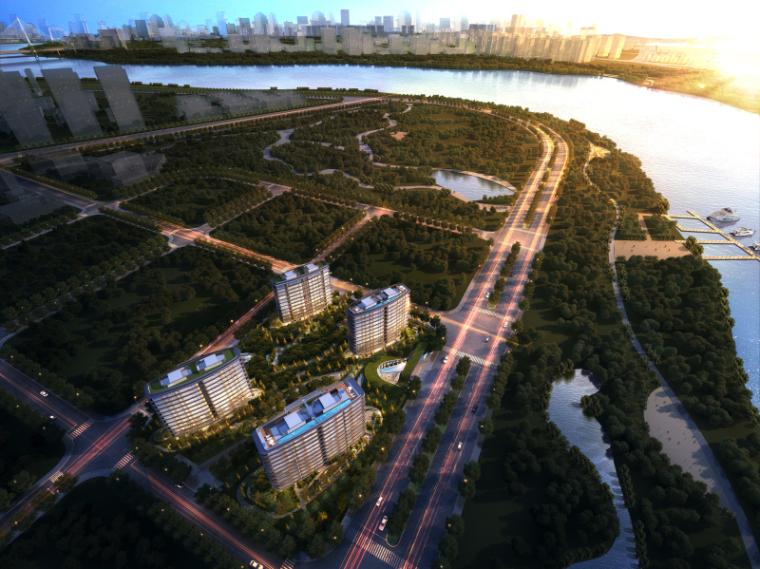 [上海]现代风格豪宅建筑模型设计