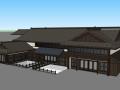 伊斯兰风格廊架建筑模型设计