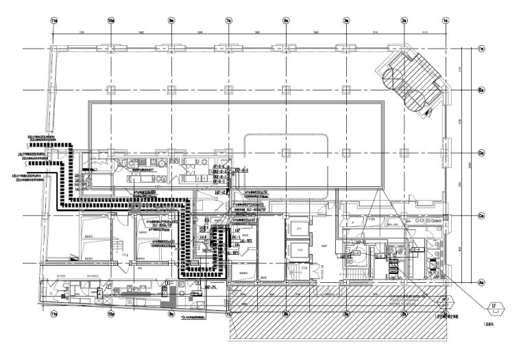 上海老旧建筑室内装修工程电气施工图