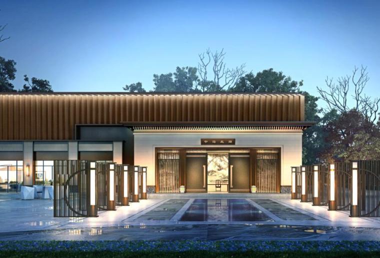 [吉林]新中式风格居住区概念规划文本