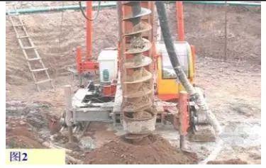 长螺旋钻孔压浆灌注桩施工