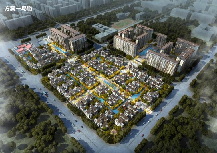 [四川]新中式风格轻奢豪宅建筑方案文本