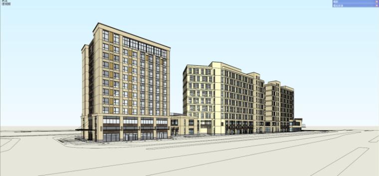[江苏]龙湖时代天街商业建筑模型设计