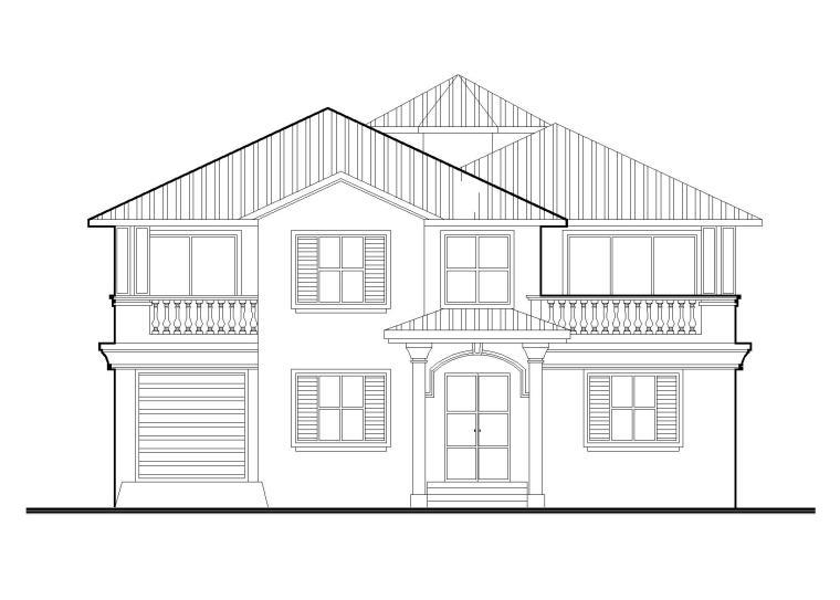 框架结构二层别墅全套施工图(CAD)