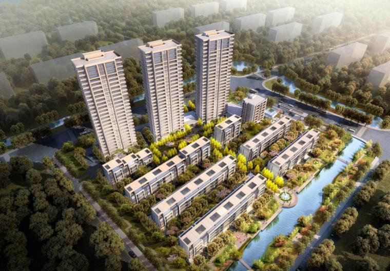 [上海]新古典风格住宅建筑方案文本