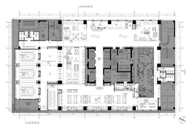 BLVD毕路德-洛阳凯悦嘉轩酒店CAD+PDF施工图