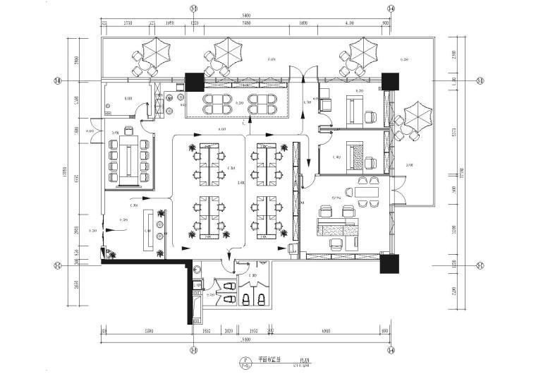 [广东]东莞市德高装饰有限公司办公室施工图