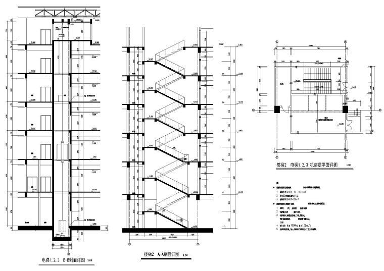 楼梯间详图a2
