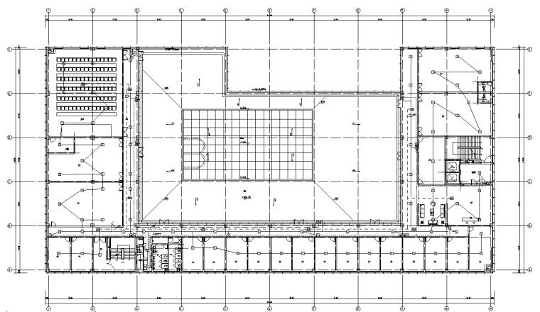 深圳大型商业广场电气施工图(商业、办公)